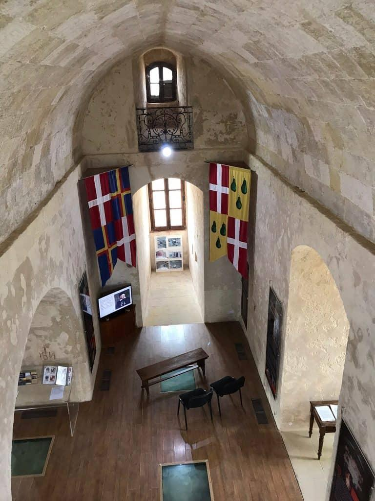 Interior of St Agatha's Tower