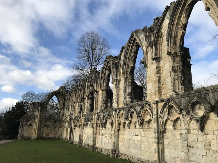 St Mary's Abbey at the Yorkshire Museum