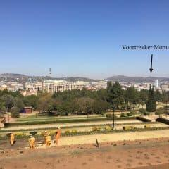 View from the Union Buildings