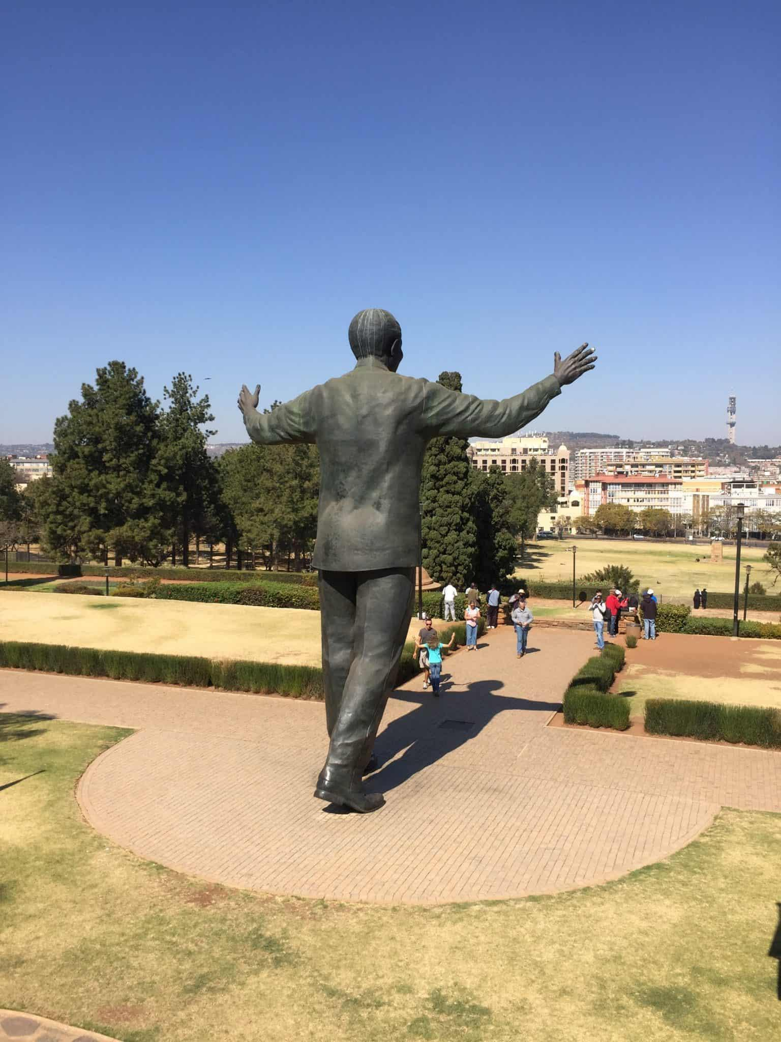 Nelson Mandela Statue – Union Buildings, Pretoria