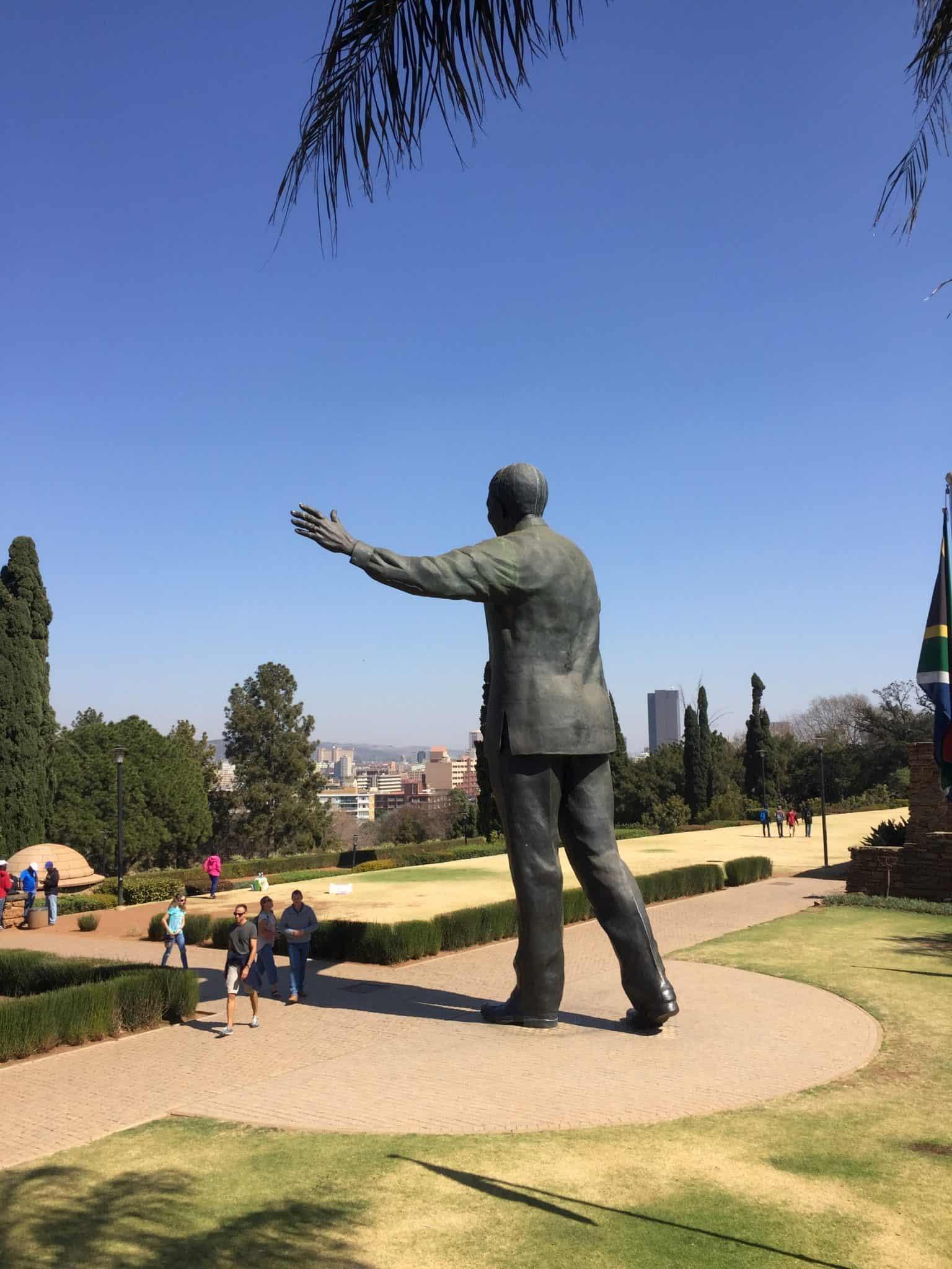 Nelson Mandela Statue, Union Buildings