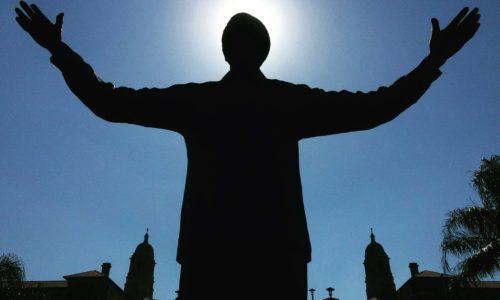 Nelson Mandela Statue - Halo