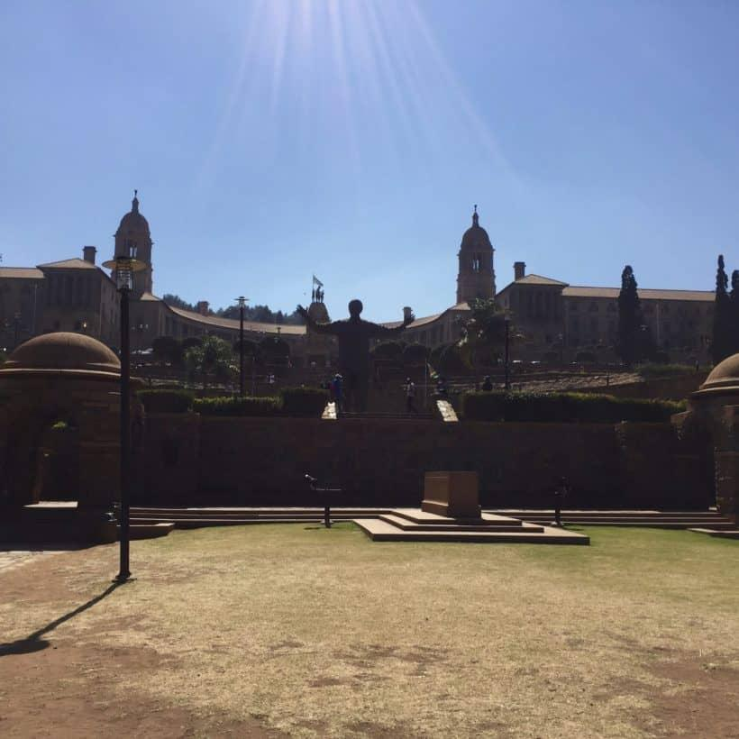 Union Buildings from Gardens
