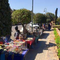 Crafts stalls at the Union Buildings, Pretoria