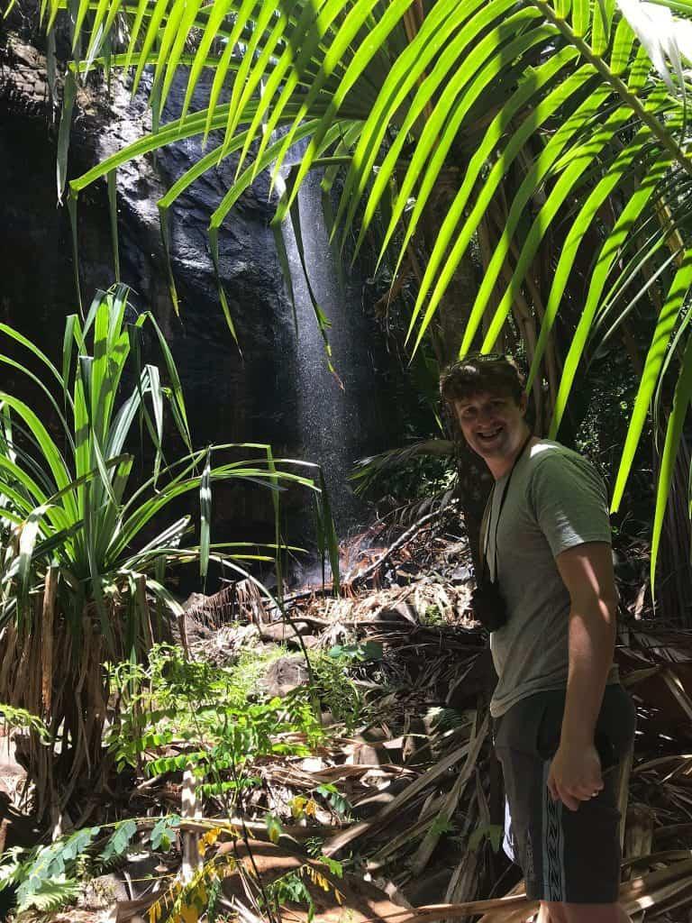 Praslin Waterfall - Ben