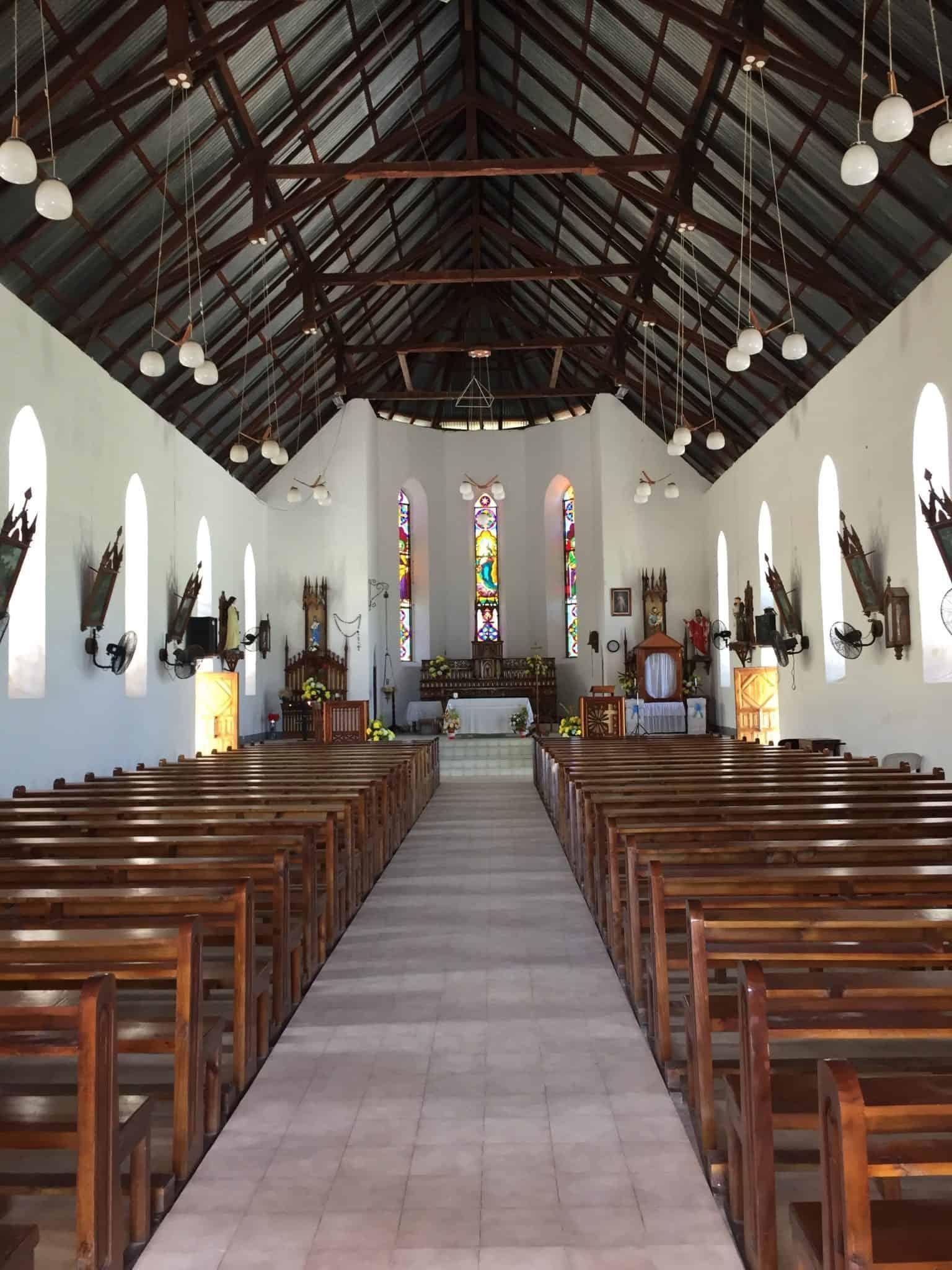 La Digue - Church