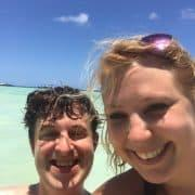 Anse Volbert Beach – Happy :)