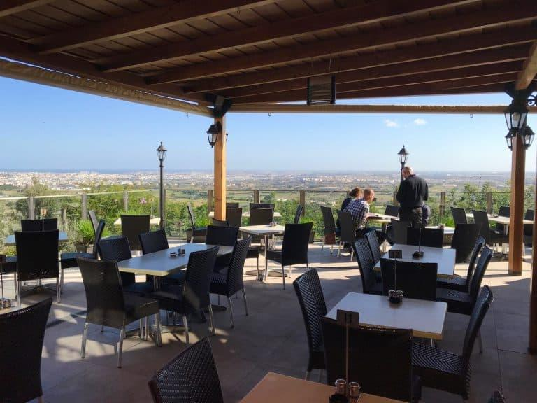 Il Veduta: Restaurant with EPIC views over Malta