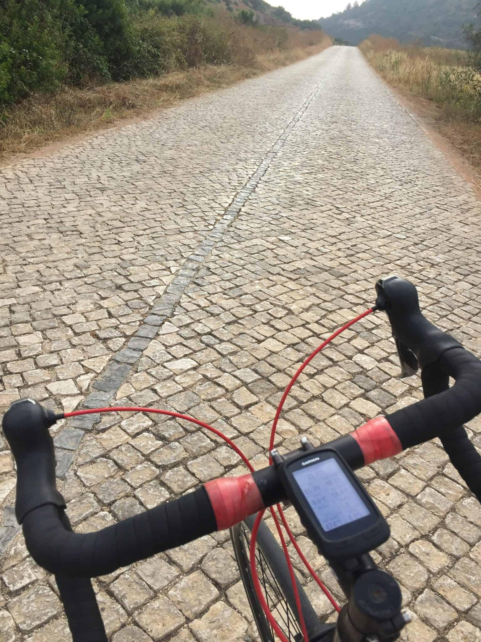 Cycling in The Algarve - Roman Road?