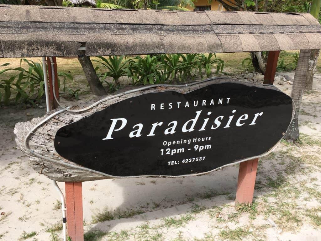 Paradisier Restaurant