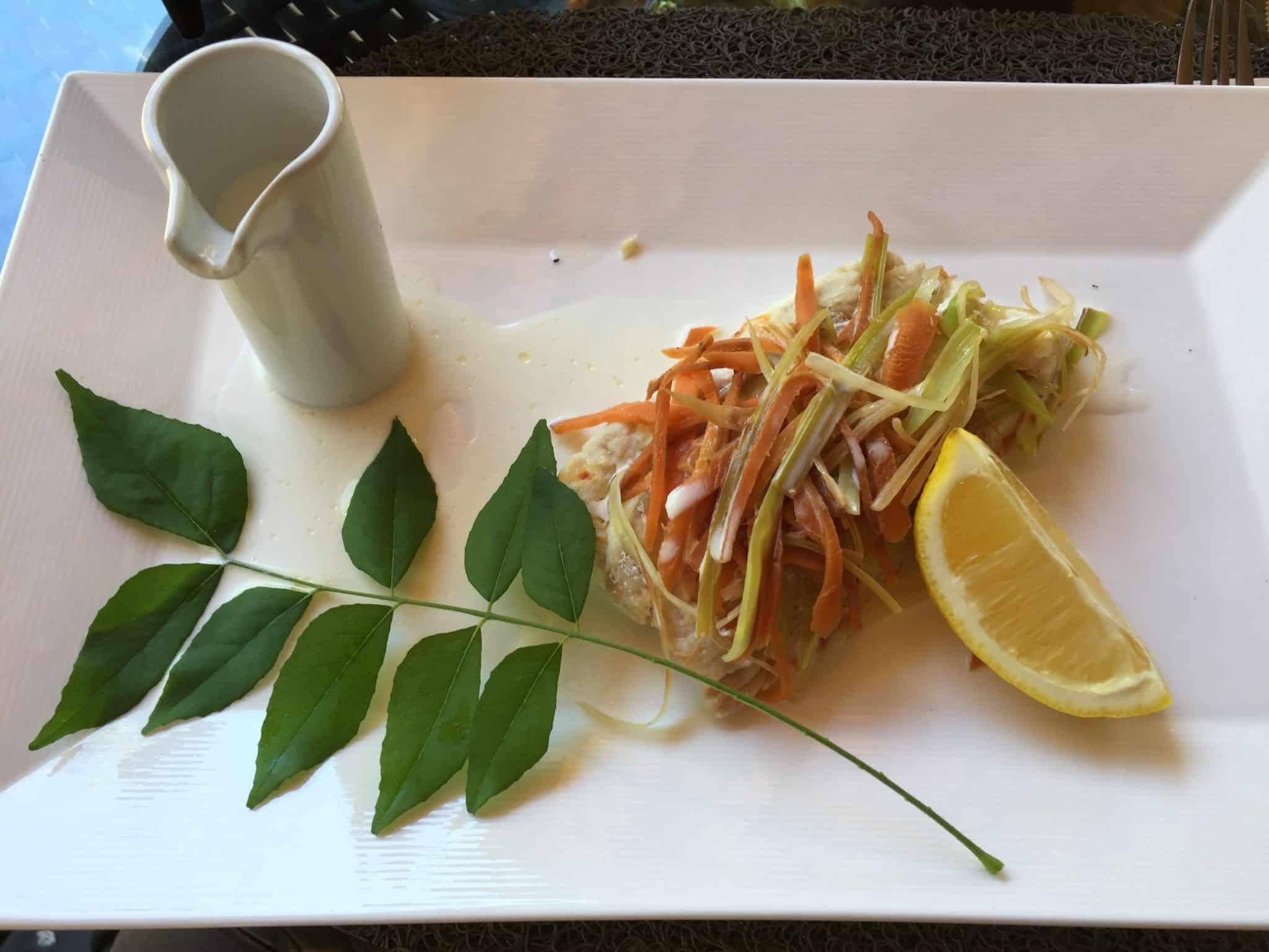 Paradisier Restaurant - Parrot Fish