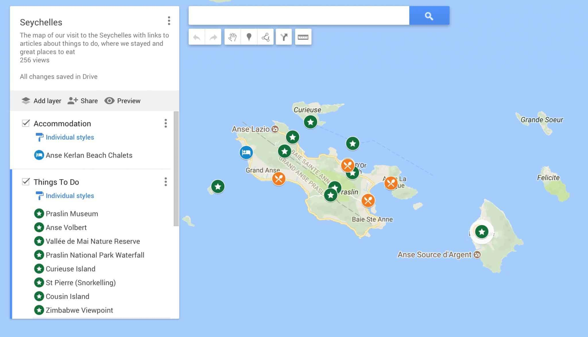 How to use Custom Google Maps on your Travel Blog