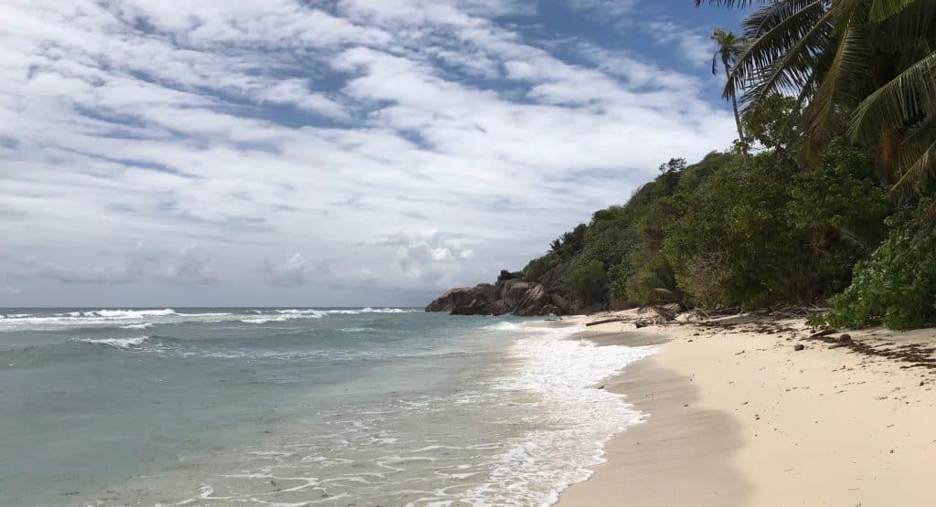 Praslin Island Beach