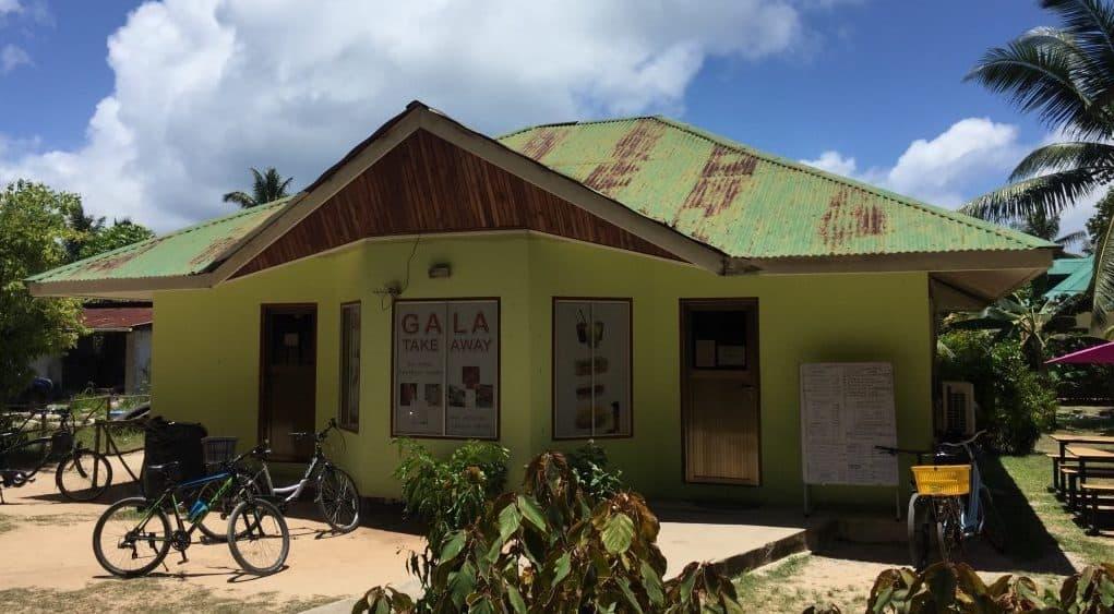 Praslin Island - Gala Takeaway