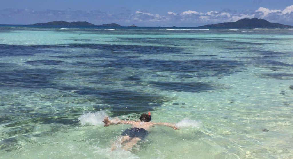 Praslin Island - Snorkelling