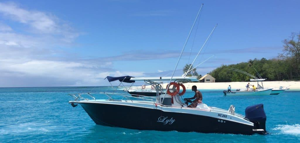 Praslin Island - Boat Trip