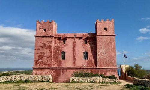 St Agatha's Tower - Red Tower