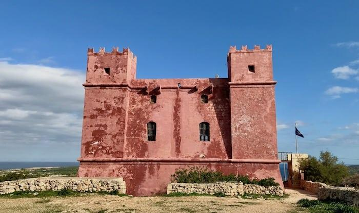 St Agatha's Tower (The Red Tower) | Mellieha, Malta