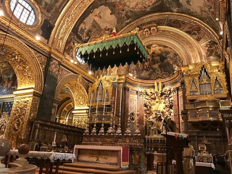 St John's Cathedral, Valletta -> the best things to see in Valletta in one day