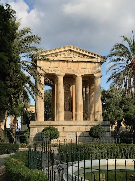 Lower Barrakka Gardens, Valletta