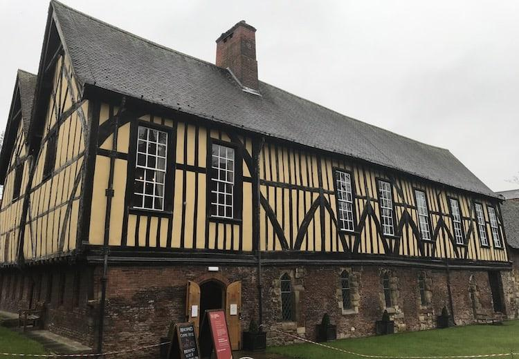 Merchant adventurers hall in York. A traditional building.