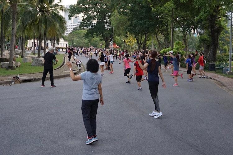 Public Workout, Lumphini Park