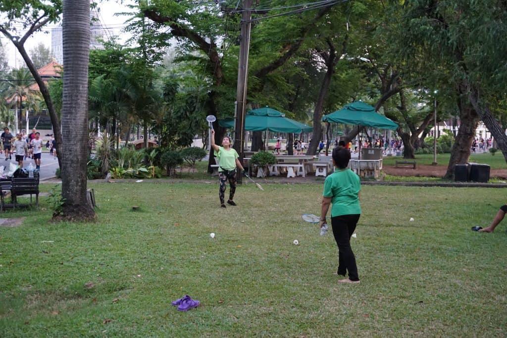 Badminton - Lumphini Park