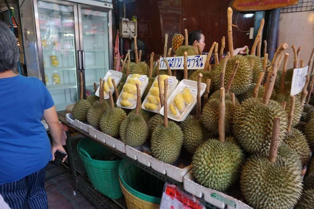 Durian fruit, Sampeng Market