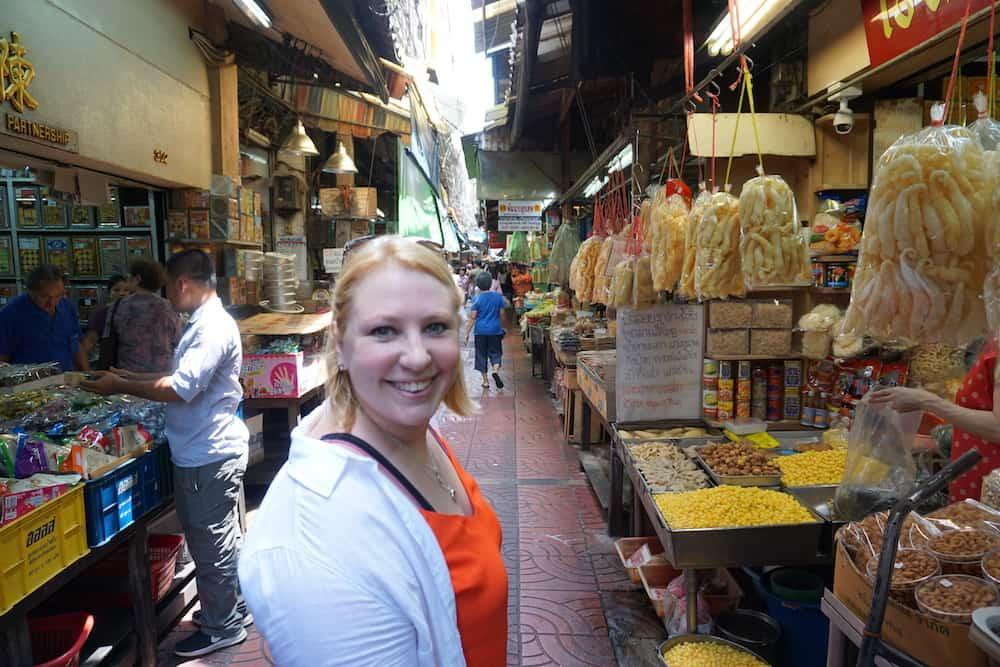 Becca at Sampeng Market