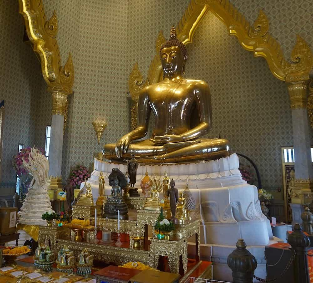 The largest Golden Buddha in the world
