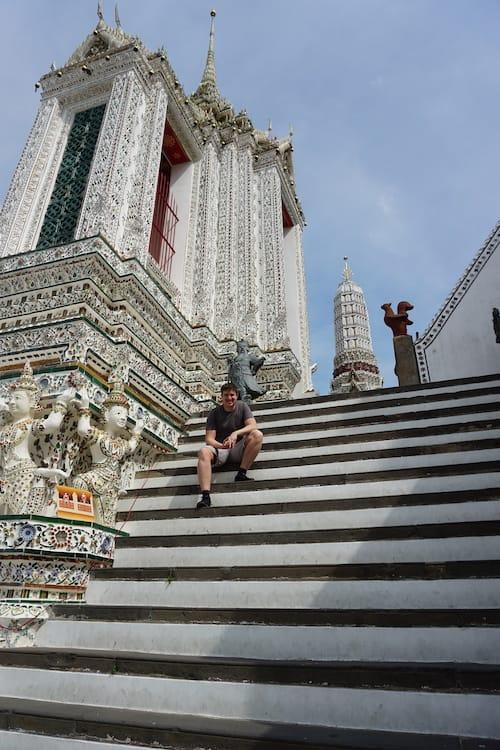 Ben Reeve at Wat Arun