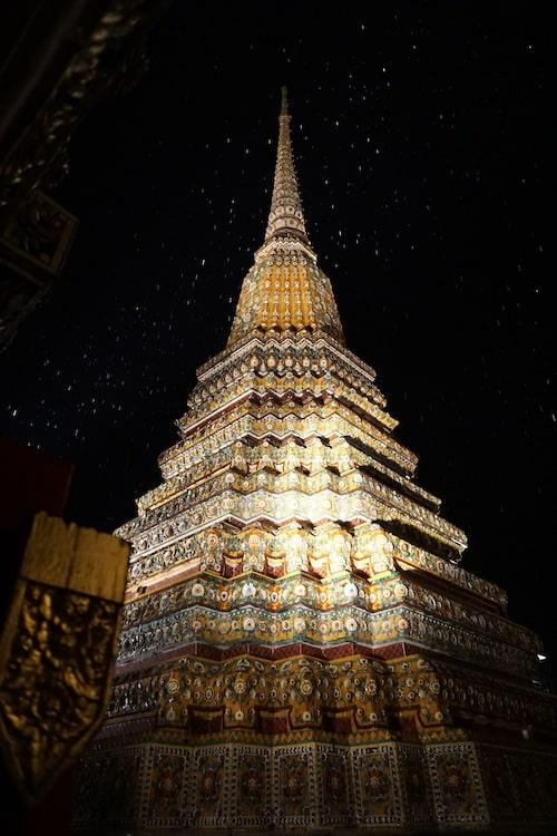 Wat Pho at Night - Chedi
