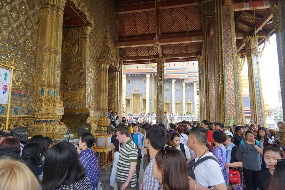 Craziness of Bangkok Grand Palace