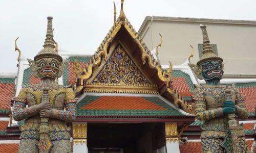 Grand Palace, Bangkok - Statues