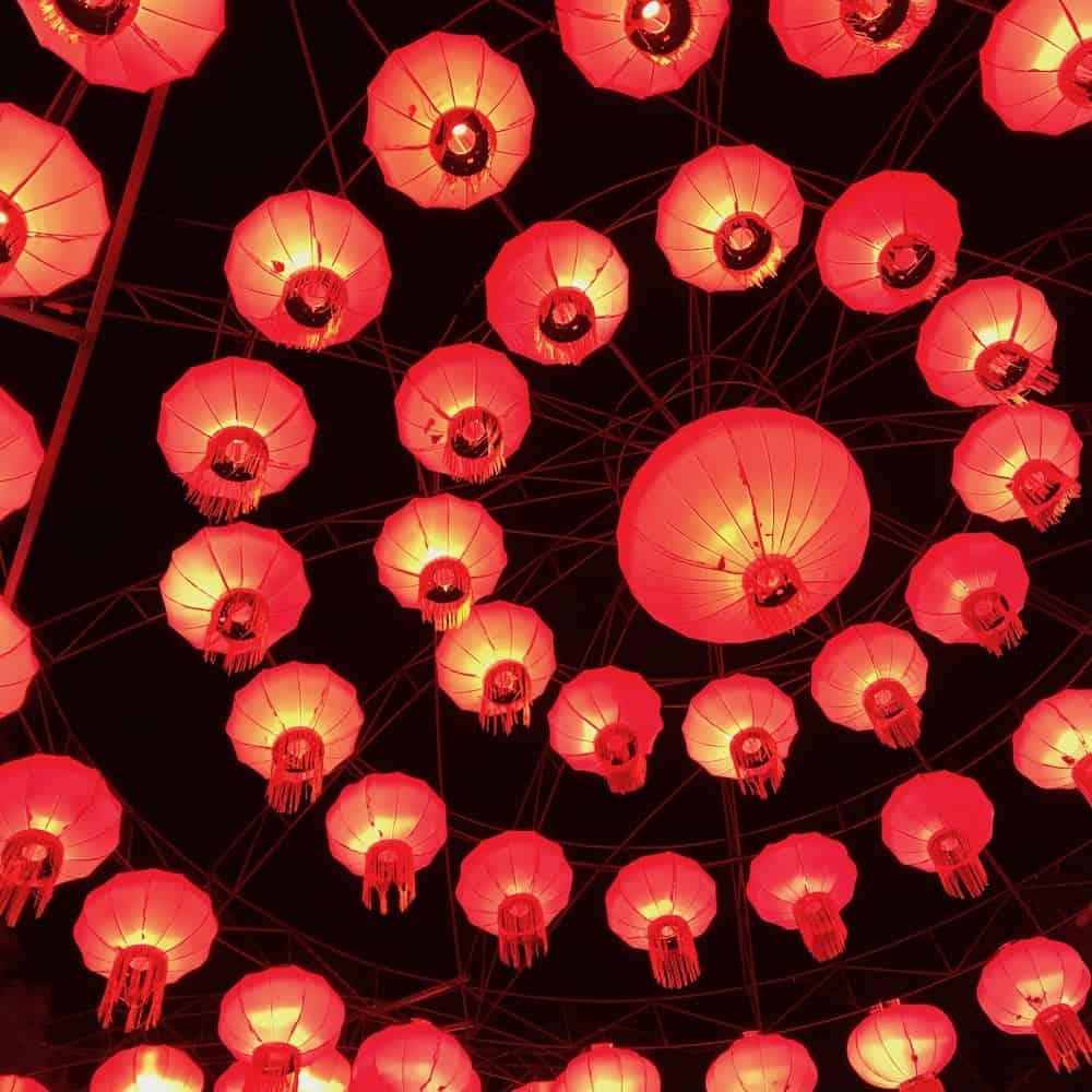 Giant Lanterns of China at Edinburgh Zoo - Traditional Lanterns