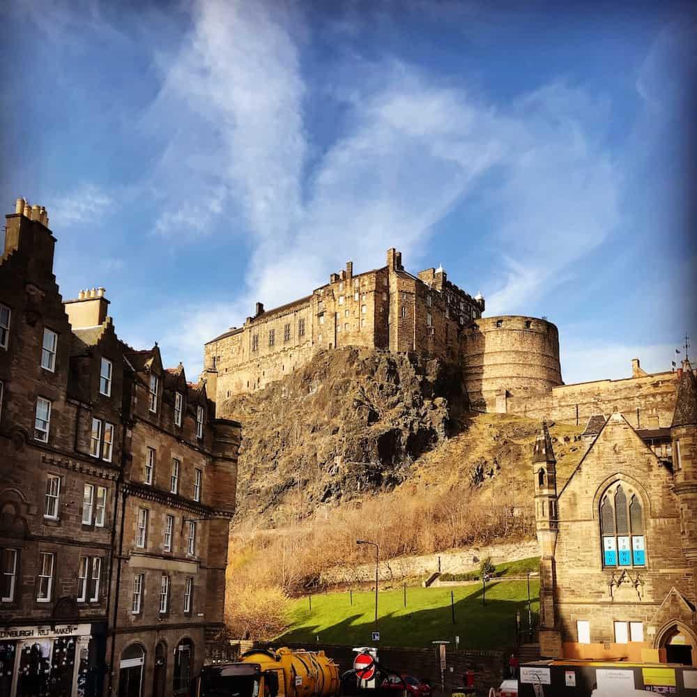 Edinburgh Castle Main View