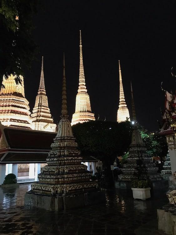 Wat Pho Open at Night