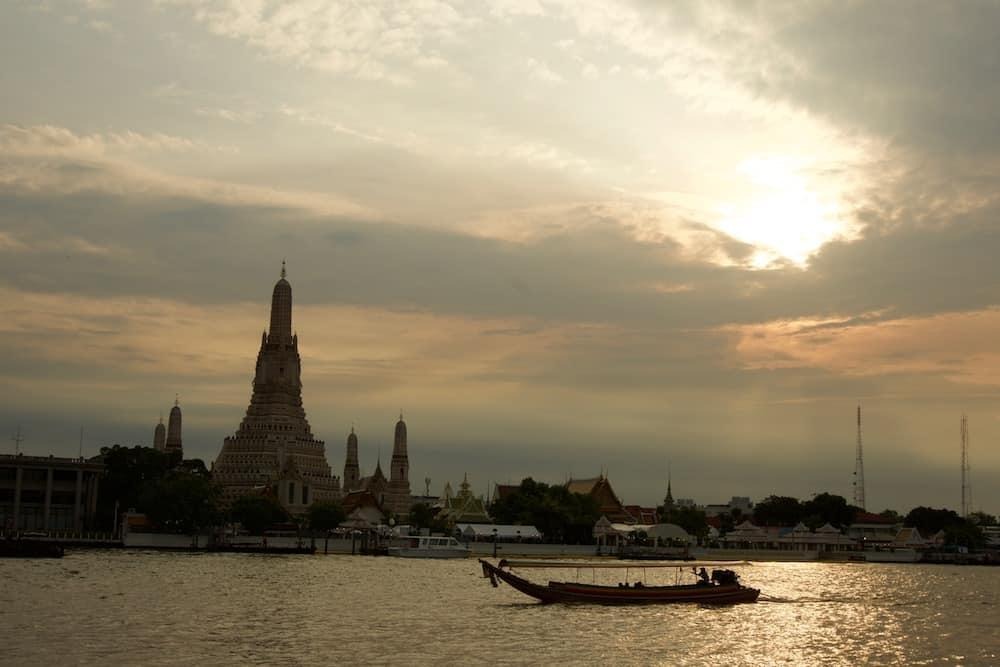 Sunset at Wat Arun