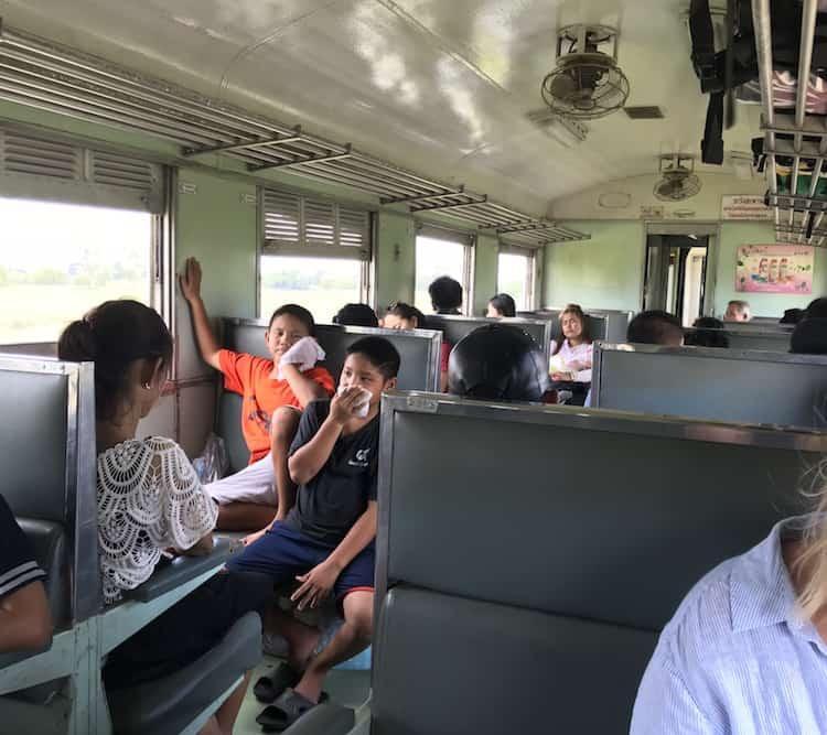 Hua Lamphong to Pak Chong Train