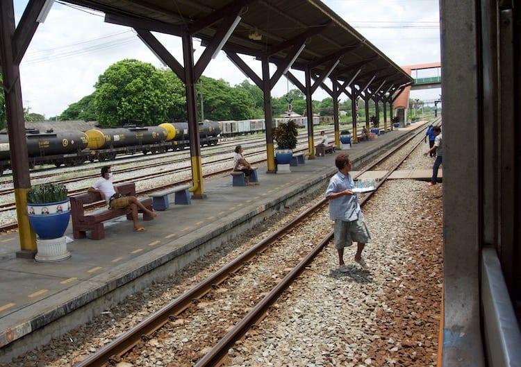 Train Ride to Pak Chong