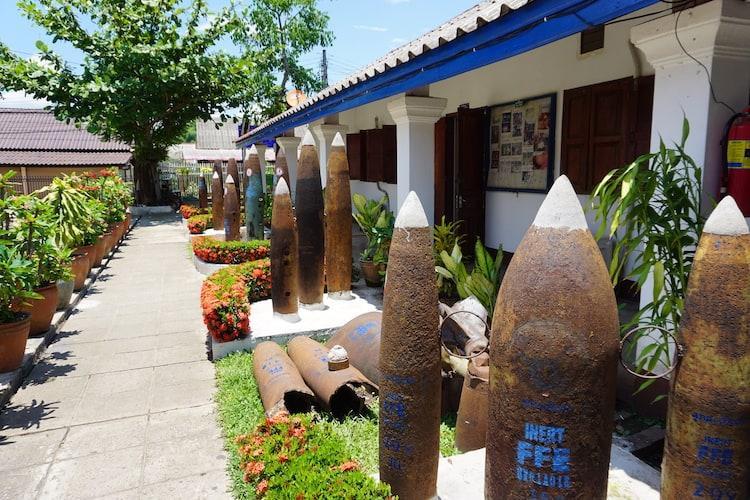 UXO Museum, Luang Prabang | The Legacy of a Secret War
