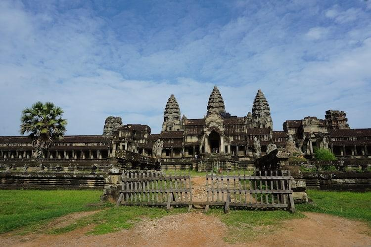 Angkor Wat from the east