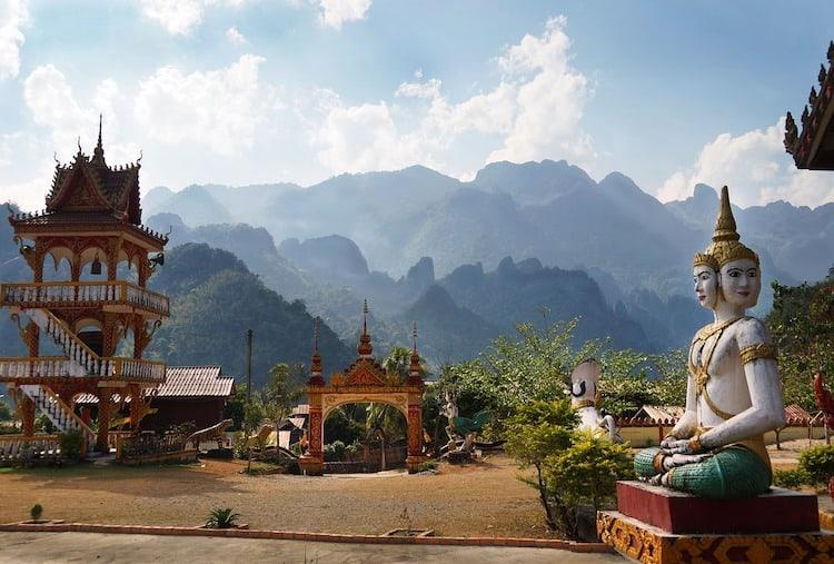 Best Places to visit in Laos - Vang Vieng