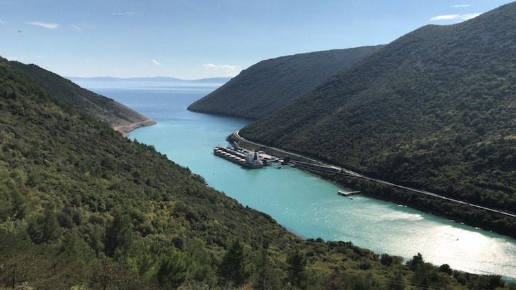 Croatia Road-Trip | View from Plomin