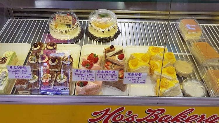 Ho's Bakery Facebook