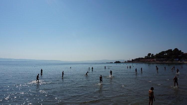 Picigin in Split