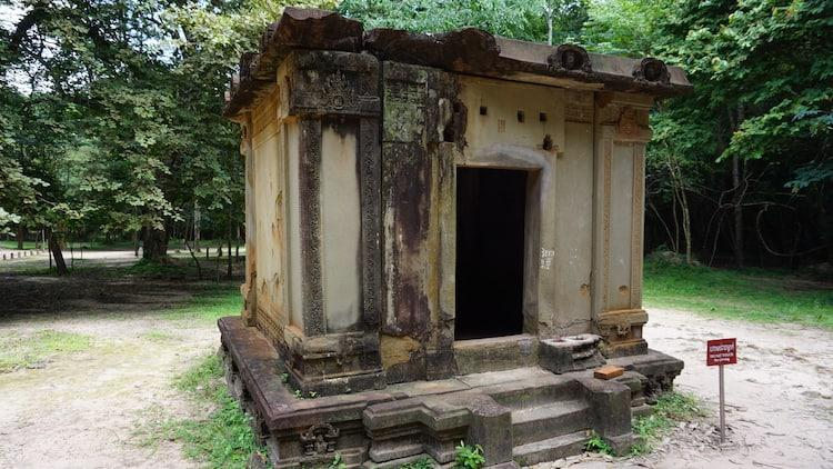 Oldest Temple at Sambor Prei Kuk
