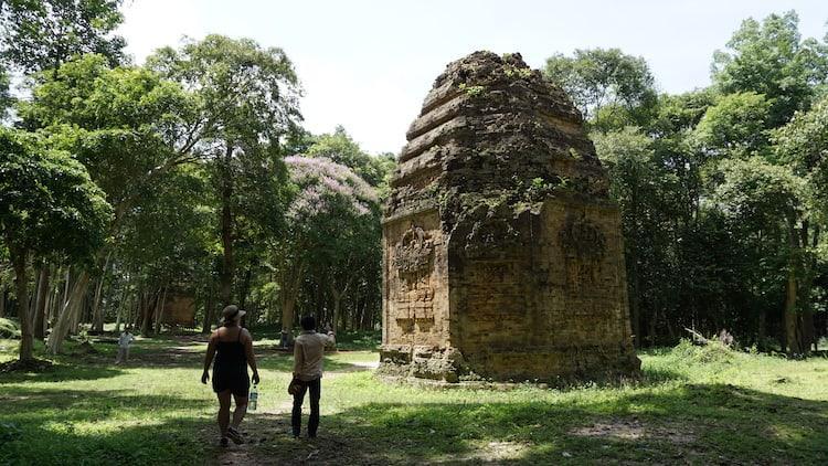 Sambor Prei Kuk, Octaganol Temple