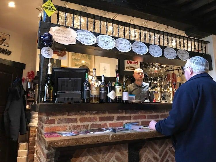 De Garre bar in Bruges