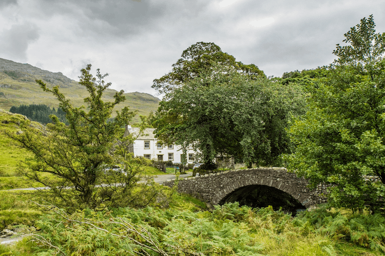 Ulpha Bridge Lake District